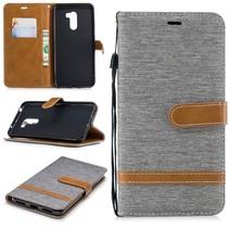 Booktype Hoesje Xiaomi Pocophone F1 - Grijs