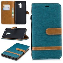 Booktype Hoesje Xiaomi Pocophone F1 - Groen