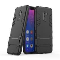 Hybrid Hoesje Xiaomi Pocophone F1 - Zwart