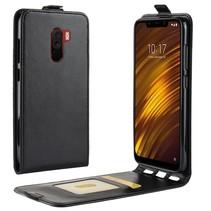 Flipcase Hoesje Xiaomi Pocophone F1 - Zwart