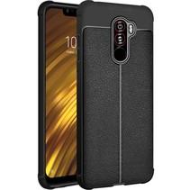 Imak TPU Hoesje Xiaomi Pocophone F1 - Zwart