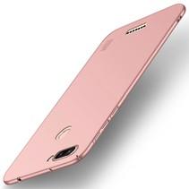 Mofi Hardcase Hoesje Xiaomi Redmi 6 - Roze / Goud