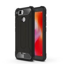 Hybrid Hoesje Xiaomi Redmi 6 - Zwart