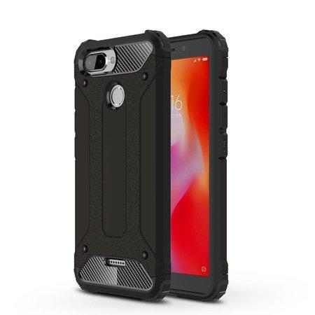 Hybrid Hoesje voor de Xiaomi Redmi 6 - Zwart