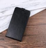 Flipcase Hoesje voor de Xiaomi Redmi 6 - Zwart