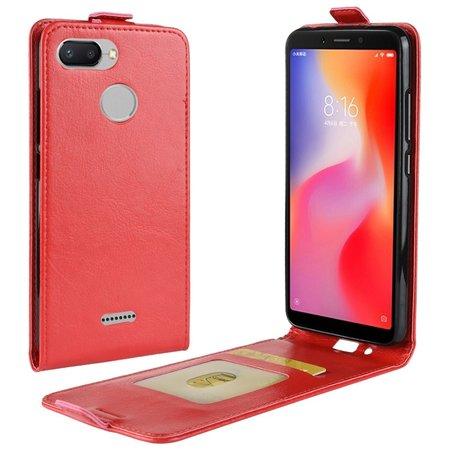 Flipcase Hoesje voor de Xiaomi Redmi 6 - Rood