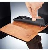 DG.Ming Dg.Ming Booktype Hoesje voor de Xiaomi Redmi 6 - Bruin