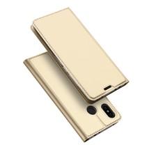 Dux Ducis Booktype Hoesje Xiaomi Redmi Note 6 Pro - Goud