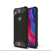 Hybrid Hoesje Xiaomi Redmi Note 6 Pro - Zwart