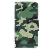 Camouflage Booktype Hoesje voor de Xiaomi Redmi Note 6 Pro