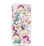Regenboog Eenhoorn TPU Hoesje voor de Xiaomi Redmi Note 6 Pro