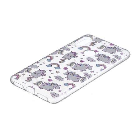 Eenhoorns Booktype Hoesje voor de Xiaomi Redmi Note 6 Pro