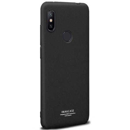 IMAK Imak Hardcase Hoesje voor de Xiaomi Redmi Note 6 Pro - Zwart