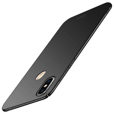 Mofi Mofi Hardcase Hoesje voor de Xiaomi Redmi Note 6 Pro - Zwart