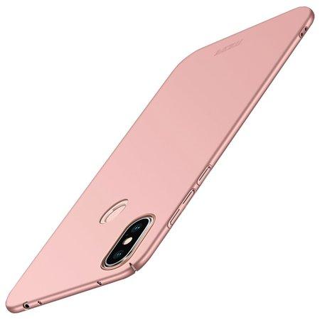 Mofi Mofi Hardcase Hoesje voor de Xiaomi Redmi Note 6 Pro - Roze / Goud