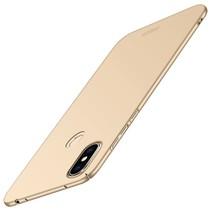 Mofi Hardcase Hoesje Xiaomi Redmi Note 6 Pro - Goud