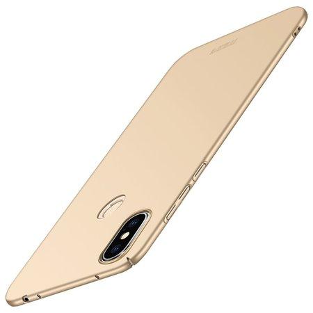 Mofi Mofi Hardcase Hoesje voor de Xiaomi Redmi Note 6 Pro - Goud