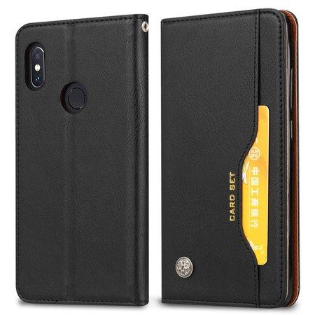 Booktype Hoesje voor de Xiaomi Redmi Note 6 Pro - Zwart
