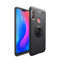 Lenuo TPU Hoesje Xiaomi Redmi Note 6 Pro - Zwart