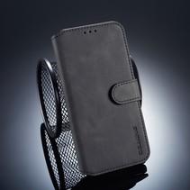 Dg.Ming Booktype Hoesje Xiaomi Redmi Note 6 Pro - Zwart