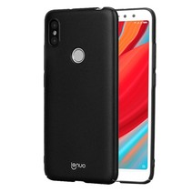 Lenuo Hardcase Hoesje Xiaomi Redmi S2 - Zwart