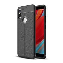 Litchee TPU Hoesje Xiaomi Redmi S2 - Zwart