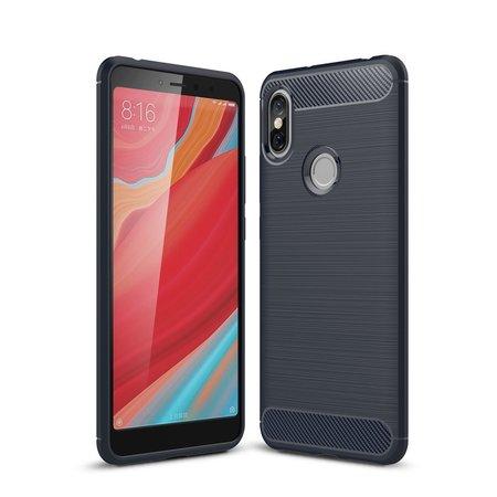 TPU Hoesje voor de Xiaomi Redmi S2 - Donker Blauw