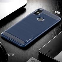 Ipaky TPU Hoesje Xiaomi Redmi S2 - Donker Blauw