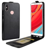 Flipcase Hoesje voor de Xiaomi Redmi S2 - Zwart