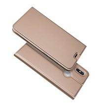 Booktype Hoesje Xiaomi Redmi S2 - Roze / Goud