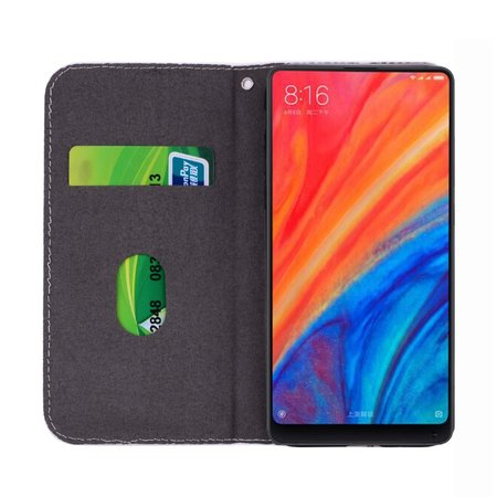 Glitters Booktype Hoesje voor de Xiaomi Redmi S2 - Rood