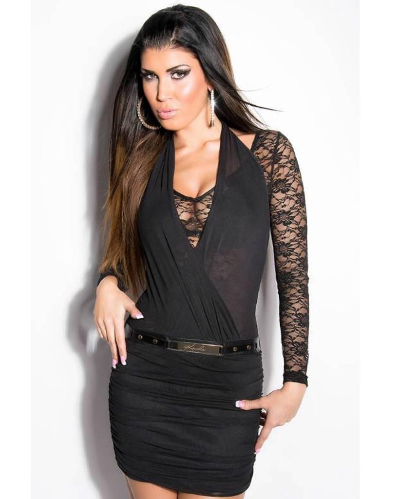 party jurk zwart