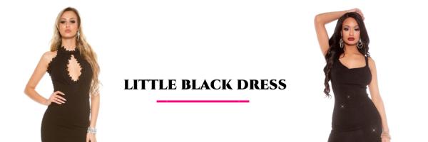 Zwart party jurkje