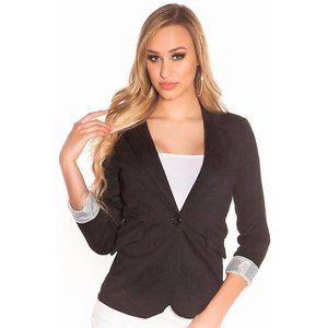 IN-STYLE FASHION ZWARTE BLAZER