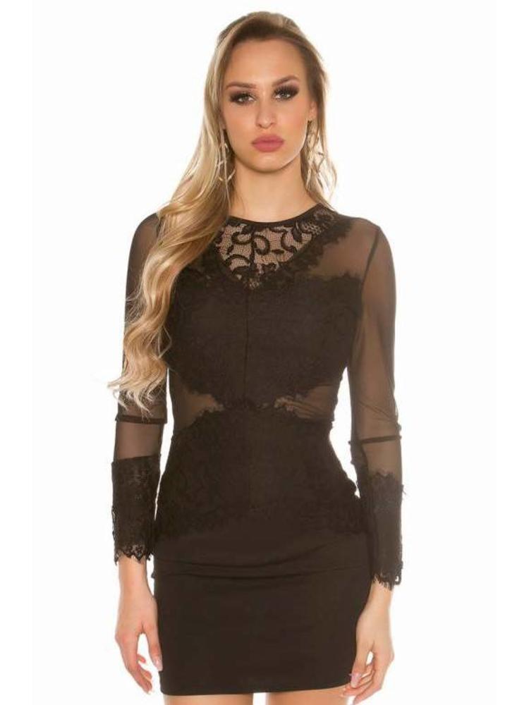 60e75ffbd53089 sexy zwart jurkje mesh - MOOS FASHION