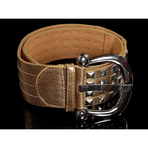 IN-STYLE FASHION GOUDKLEURIGE RIEM