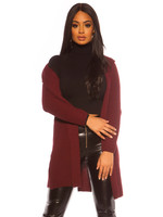 IN-STYLE FASHION BORDEAUX VEST