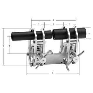 CENTROMAT Type 1A External Alignment Clamps
