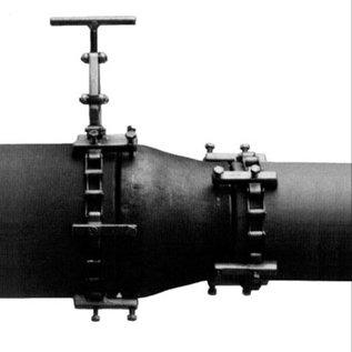 Modéle 1C Chaînes de centrage de tube Version légère à chaîne simple de taille 150