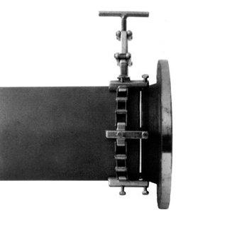 Modéle 1C Rohrzentrierketten Medium, chaîne simple, taille 200