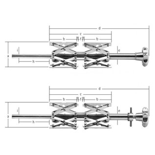 Tipo 3B Dispositivo di centratura interna