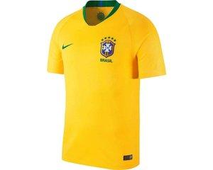 Nike Brazilië thuisshirt WK 2018