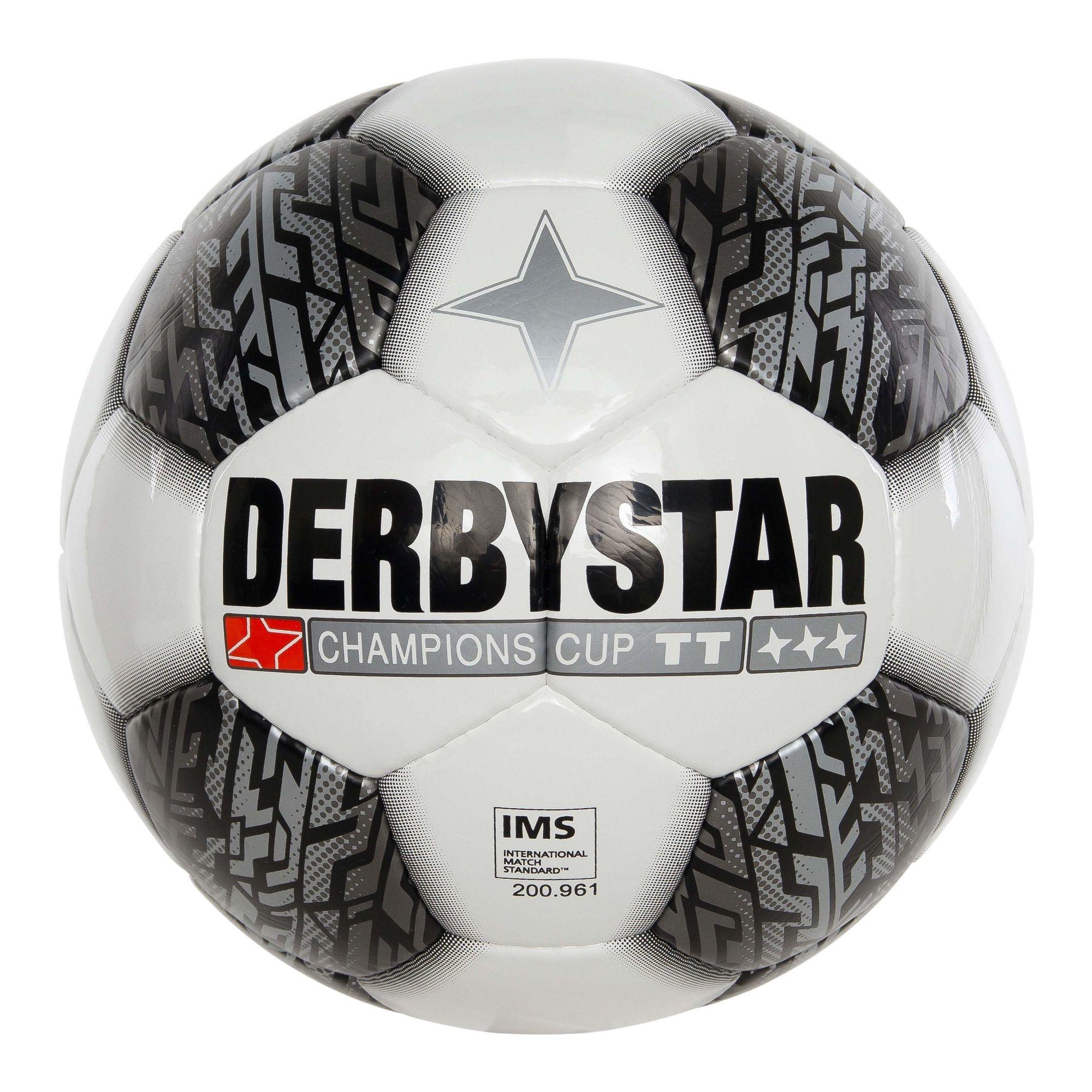 Derbystar Champions Cup zwart/wit