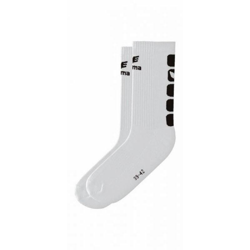 Erima Sokken wit/zwart