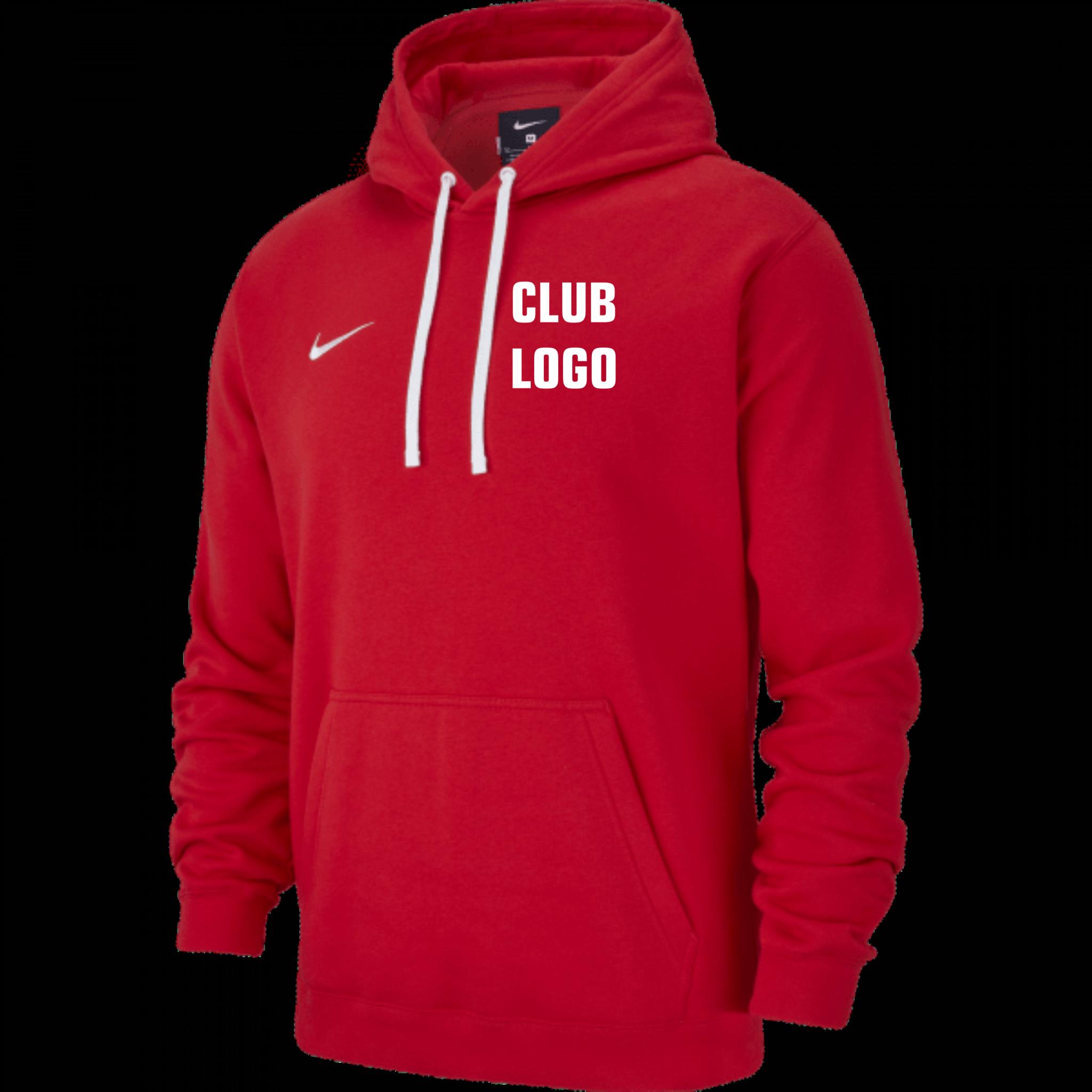 Nike Team Hoodie Rood