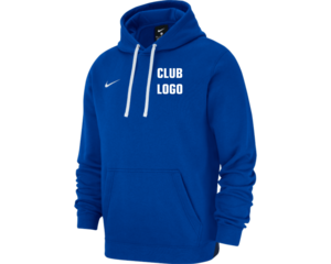 Nike Team Hoodie Blauw