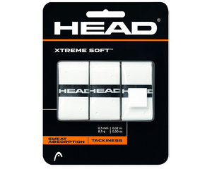 HEAD XTREME SOFT OVERGRIP 3 ST. WIT