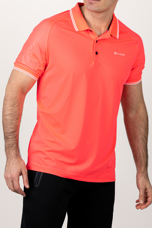 Sjeng Sports Polo Ronan Laser Pink