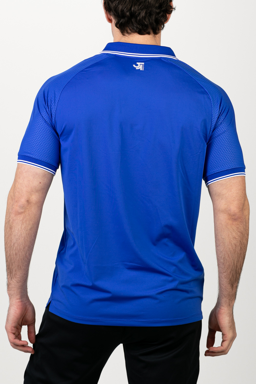 Sjeng Sports Polo Ronan Blue Neon