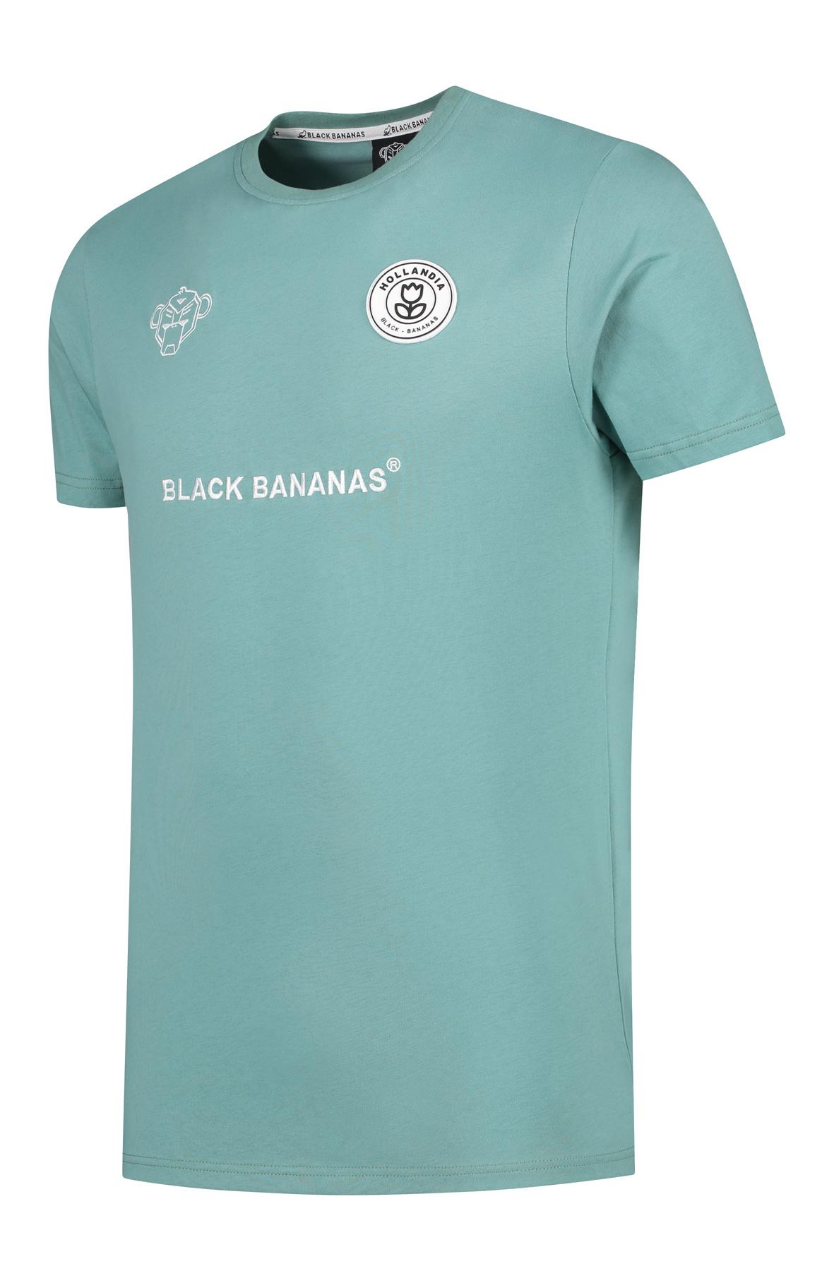 Black Bananas BLCK F.C. basic tee mint green